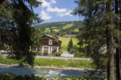 Summer lanscape in Austrian alps Stock Image