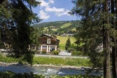 Summer lanscape in Austrian alps Stock Image