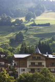 Summer lanscape in Austrian alps Stock Images