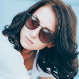 Summer lazy portrait Royalty Free Stock Images