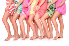 Summer legs Royalty Free Stock Photography