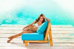 Summer leisure Stock Photo