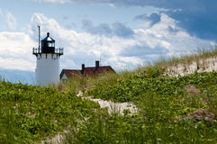 Summer Lighthouse on Cape Cod Royalty Free Stock Images