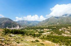 Summer  Llogara pass (Albania) Stock Image