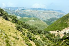 Summer  Llogara pass (Albania) Stock Photography