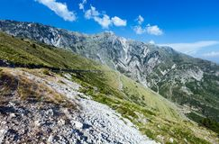 Summer  Llogara pass (Albania) Royalty Free Stock Photography