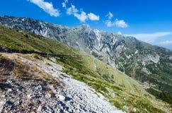 Summer  Llogara pass (Albania) Royalty Free Stock Photography