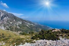 Summer  Llogara pass Albania Stock Photos