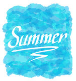 Summer logo Stock Photography