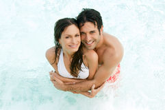 Summer love and refreshment Stock Image