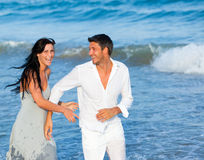 Summer lovers Stock Photography