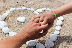 Summer Lovers Royalty Free Stock Photos