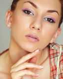 Summer make-up Royalty Free Stock Images
