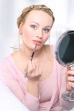 Summer makeup Stock Image