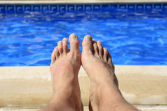 Summer male Royalty Free Stock Photos