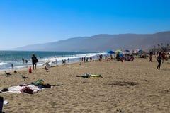 Summer in Malibu Royalty Free Stock Photography