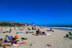 Summer in Malibu Royalty Free Stock Photos