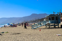 Summer in Malibu Royalty Free Stock Images