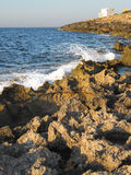 Summer in Malta long the coastline Royalty Free Stock Images