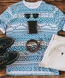 Summer Man Outfit. On wooden rustic floor Stock Photos