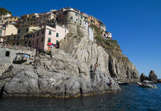Summer at Manarola Stock Image