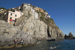 Summer at Manarola Stock Photography