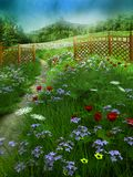 Summer meadow 2 royalty free illustration