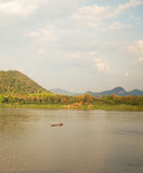 Summer Mekong River Thailand Royalty Free Stock Photography