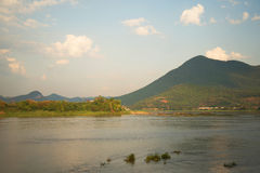 Summer Mekong River Thailand Royalty Free Stock Images