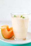 Summer melon smoothie Royalty Free Stock Image