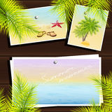 Summer memories Royalty Free Stock Photography
