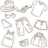 Summer menswear Royalty Free Stock Photos