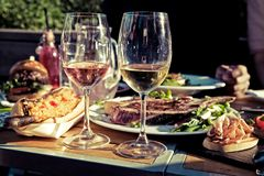 Free Summer Menu In The Garden Royalty Free Stock Images - 103451279