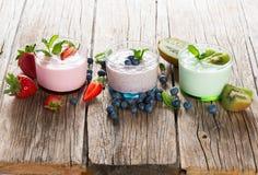 Summer milkshake Stock Images