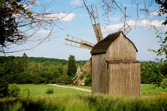 Summer Mill Royalty Free Stock Photos