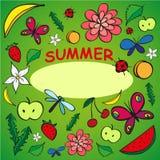 Summer mix Royalty Free Stock Photos