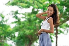 Summer model Stock Photography
