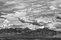 Summer Monsoon and Mountain Royalty Free Stock Image