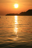 Summer in Montenegro. Adriatic sea Royalty Free Stock Photos