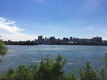 Summer in Montreal, canada Royalty Free Stock Images
