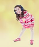Summer mood a little girl. Royalty Free Stock Photo