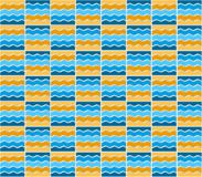 Summer mosaic pattern Royalty Free Stock Photo