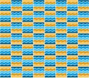 Summer mosaic pattern Royalty Free Stock Photo
