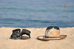 Summer motive - Gone to swim Royalty Free Stock Image