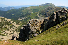 Summer Mountain Landscape Royalty Free Stock Photography
