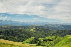 Summer mountain landscape Stock Photos