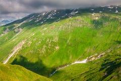 Summer mountain landscape around Gletsch, Switzerland Stock Image