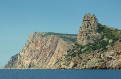 Summer mountain landscape of Crimea Stock Photos