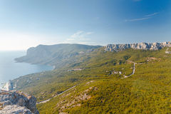 Summer mountain landscape Crimea, Russia. Ukraine Stock Images