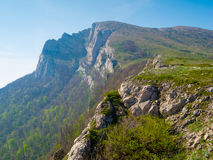 Summer mountain landscape in Crimea Royalty Free Stock Image